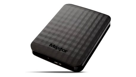 """Externí pevný disk 2,5"""" Maxtor M3 Portable 4TB (STSHX-M401TCBM) černý"""