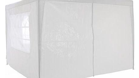 Garthen 40611 Zahradní párty stan klasický 3x3 + boční stěny - bílá
