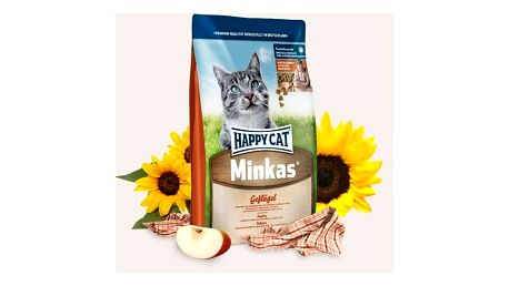 Granule HAPPY CAT ADULT Minkas Mix Geflügel - Drůbež 10 kg