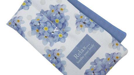 Nahřívací květinový polštářek - Pomněnka