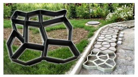 Forma na betonové chodníky