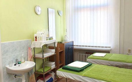 Klasická masáž zad + indická masáž hlavy na 30-60 min. v Brně