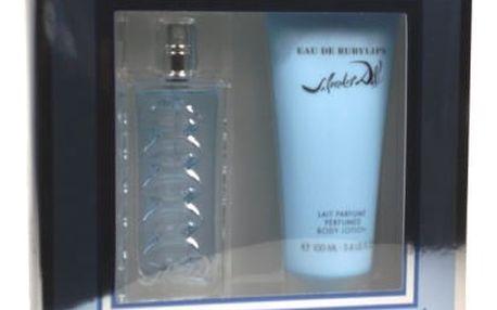 Salvador Dali Eau de Rubylips dárková kazeta pro ženy toaletní voda 50 ml + tělové mléko 100 ml