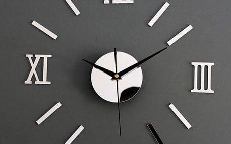 Nástěnné hodiny s římskými číslicemi