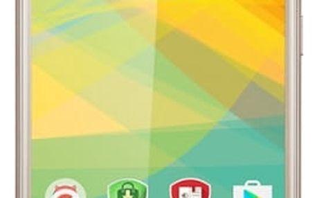 Mobilní telefon Prestigio Muze B3 Dual SIM (PSP3512DUOGOLD) zlatý