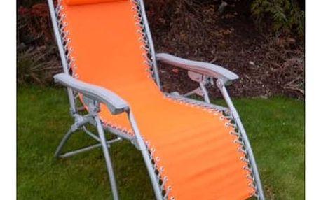 Křeslo Rojaplast 2320 oranžový
