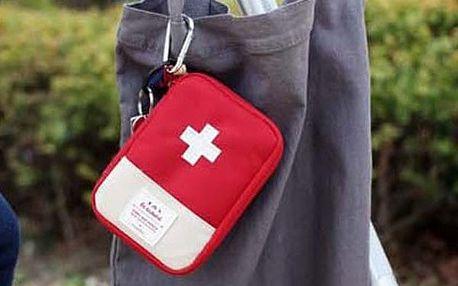 Cestovní přenosná taška první pomoci - dvě barvy i velikosti