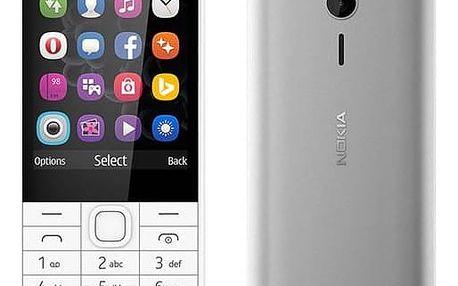Mobilní telefon Nokia 230 Single SIM (A00027220) bílý