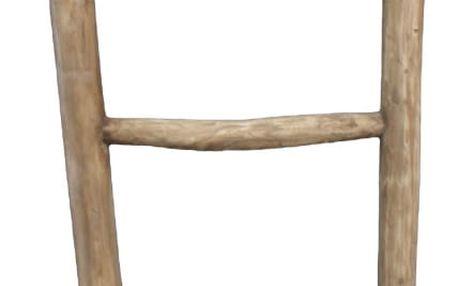 Dekorativní žebřík z teakového dřeva HSM Collection Pank - doprava zdarma!