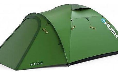 Stan Husky Extreme Lite Baron 4 zelený + Přístřešek BLUM 2 PLUS v hodnotě 790 Kč + Doprava zdarma