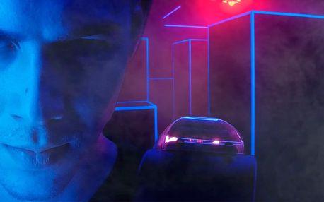15minutová laserová přestřelka v zamlžené aréně