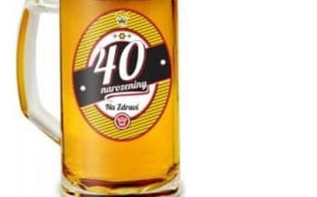 Půllitr - 40. narozeniny