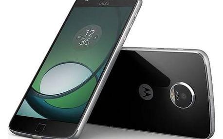 Mobilní telefon Motorola Moto Z Play Dual SIM (SM4443AE7N6) černý SIM s kreditem T-Mobile 200Kč Twist Online Internet (zdarma)Software F-Secure SAFE 6 měsíců pro 3 zařízení (zdarma) + Doprava zdarma