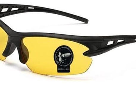 Sportovní sluneční brýle s různě barevnými skly - dodání do 2 dnů