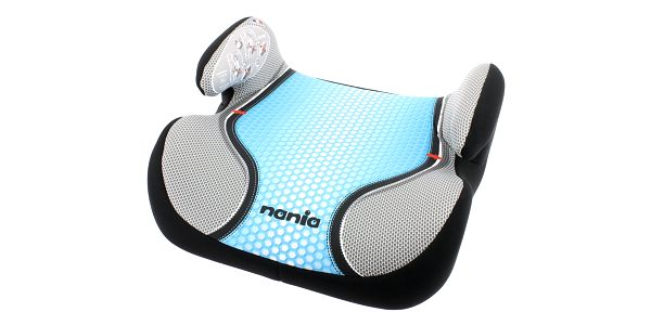 NANIA Topo Comfort Pop (15-36 kg) Autosedačka– Blue