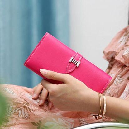 Dámská peněženka v pastelových barvách - varianta 9