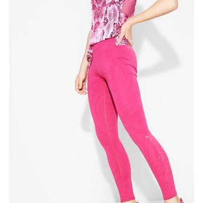 Desigual růžové sportovní legíny A Long Tight 2
