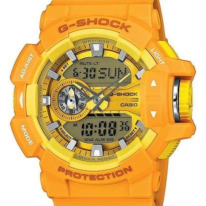 Casio GA 400A-9A + pojištění hodinek, doprava ZDARMA, záruka 3 roky