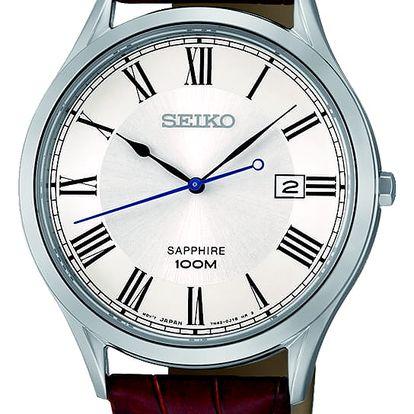 Seiko SGEG97P1 + pojištění hodinek, doprava ZDARMA, záruka 3 roky