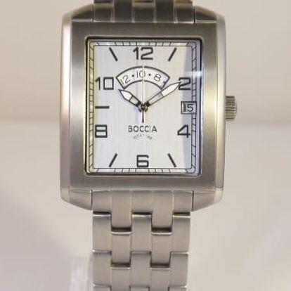 Boccia Titanium 3510-03 + pojištění hodinek, doprava ZDARMA, záruka 3 roky