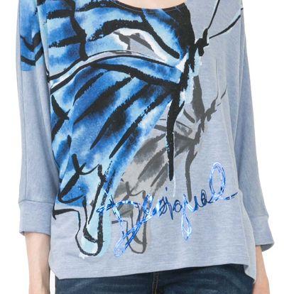 Desigual modré tričko Mireia