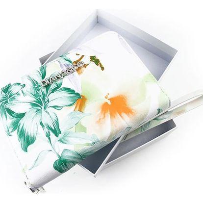 DIANA & CO Dámská peněženka - zelená