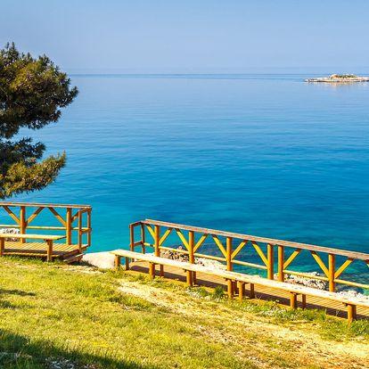 Chorvatsko: 1denní koupání v letovisku Poreč