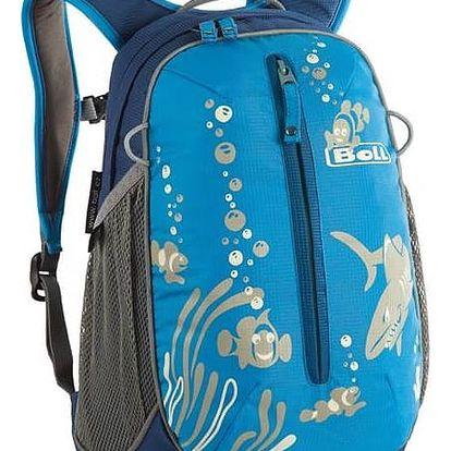Batoh dětský Boll ROO 12L modrý + Taška přes rameno Coleman ZOOM - (1L, černá), 12 x 15 x 8,5 cm, 160 g, vhodná na doklady, mobil, klíče v hodnotě 259 Kč