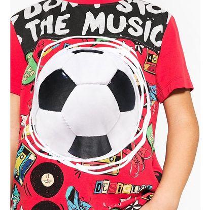 Desigual červené chlapecké tričko Janitz