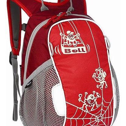 Batoh dětský Boll BUNNY 6L červený + Taška přes rameno Coleman ZOOM - (1L, černá), 12 x 15 x 8,5 cm, 160 g, vhodná na doklady, mobil, klíče v hodnotě 259 Kč