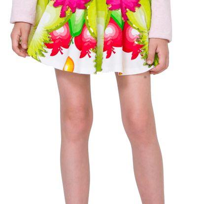 Desigual barevná dívčí sukně Tanganament