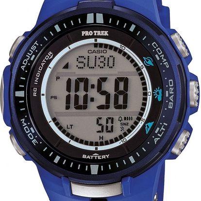 Casio PRW 3000-2B + pojištění hodinek, doprava ZDARMA, záruka 3 roky