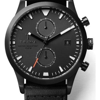 Triwa Sort of Black Glow Chrono Black Racing Classic TW-LCST112-CR010113 + pojištění hodinek, doprava ZDARMA, záruka 3 roky