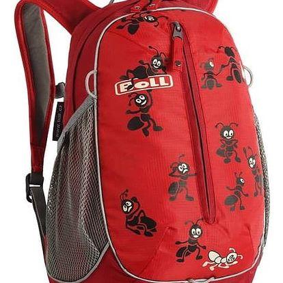 Batoh dětský Boll ROO 12L červený + Taška přes rameno Coleman ZOOM - (1L, černá), 12 x 15 x 8,5 cm, 160 g, vhodná na doklady, mobil, klíče v hodnotě 259 Kč