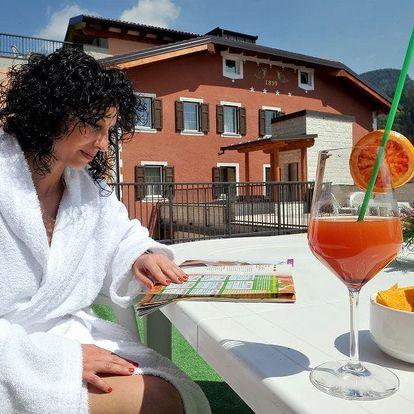 Itálie, Trentino**** na 6 dní pro dva s polopenzí a neomezeným wellness