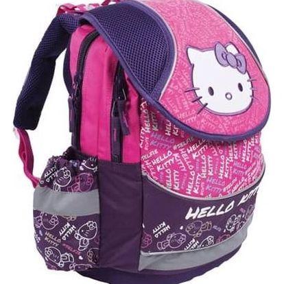 Batoh školní P + P Karton anatomický Hello Kitty + Doprava zdarma
