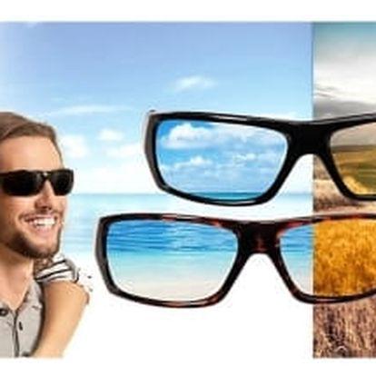 Polaryte hd, sluneční brýle unisex, sada 1+1