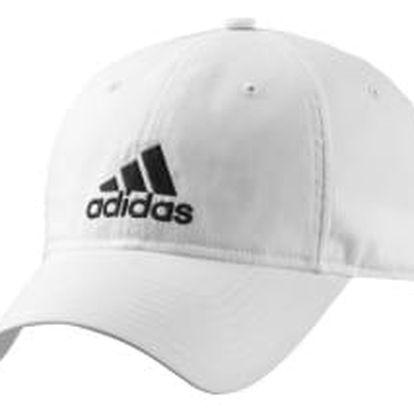 Pánská čepice adidas PERF CAP LOGO OSFY WHITE/WHITE/BLACK