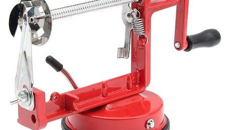 Strojek na výrobu spirálových brambůrků