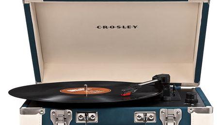 Crosley Executive, modrá/krémová - CR6019A-BL