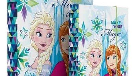Desky na sešity P + P Karton A4 Frozen