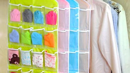 Organizér do skříně - 4 barvy