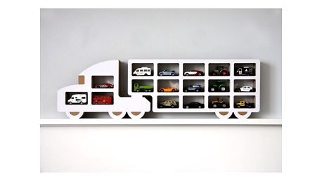 Polička Unlimited Design For Children Kamion