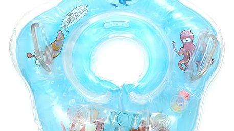 Nafukovací kruh kolem krku pro malé děti - 4 barvy