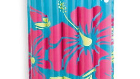 Lehátko nafukovací Intex Transparentní 183 x 169 cm modrá
