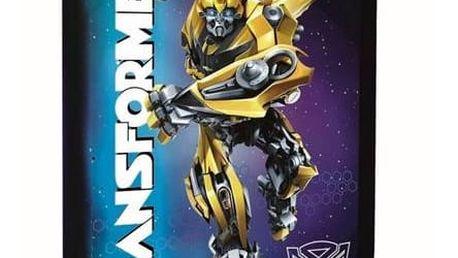 Penál školní P + P Karton jednopatrový plněný Transformers