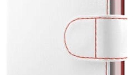 Pouzdro na mobil flipové FIXED pro Apple iPhone 7 (FIXFIT-100-WH) bílé