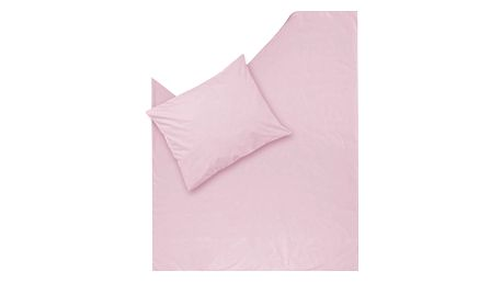 Růžové povlečení Hawke&Thorn Parker Simple,150x200cm +polštář 50x60cm - doprava zdarma!
