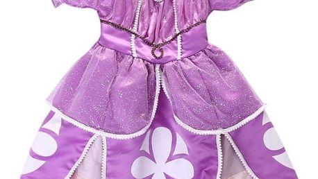 Dětský kostým, letní šaty princezny Sofie první, staň se i ty opravdovou princeznou z pohádky.