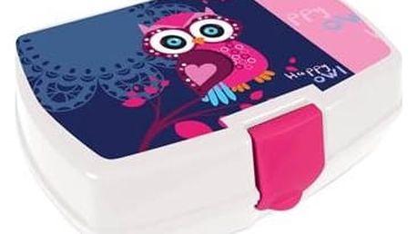 Box na svačinu P + P Karton Owl